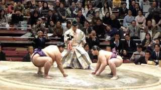 2014年2月1日(土)、雅山引退二子山襲名披露大相撲に行ってきました! 幕...