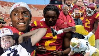 NATIONS BEST CORNERBACK! ADOREE JACKSON 2016 USC HIGHLIGHTS REACTION!