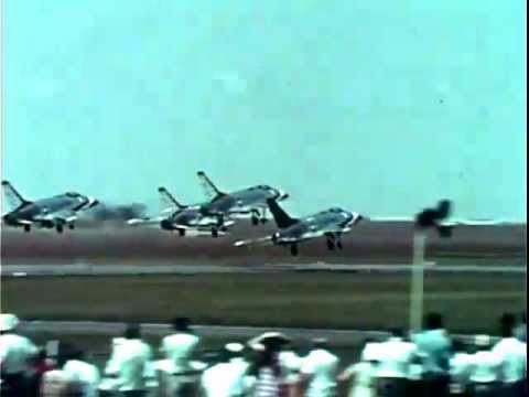 1967 Air Show: Fighter Jets, Helicopters & Airplanes at International Paris France - Video