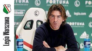 Legia Warszawa - Korona Kielce: Konferencja prasowa trenera Ricardo Sa Pinto