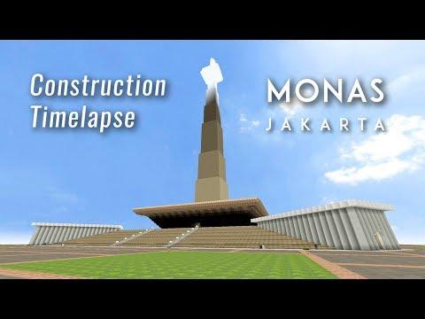 [CSO] MONAS Construction Timelapse (Studio Mode) Realistic Details【AstralGunner】