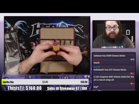 Opening Goodies on Twitch