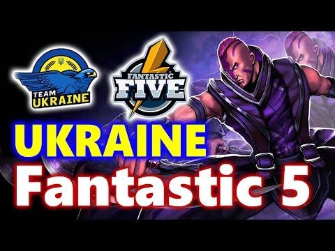 Team UKRAINE Fantastic Five - FANTASTIC GAMES - WESG Dota 2