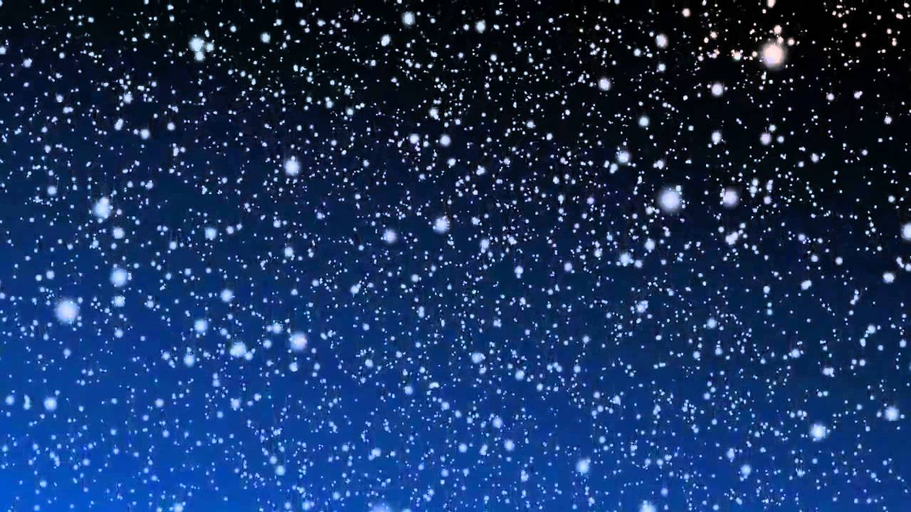 фото снега падающего