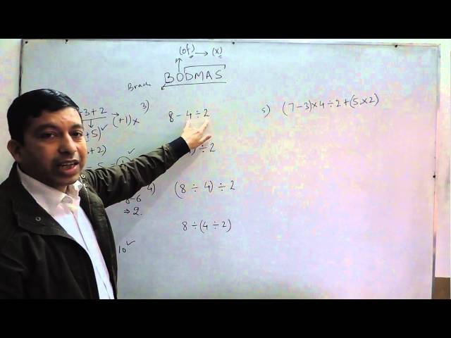 Whole Numbers | BODMAS - Ordering Mathematical Operations