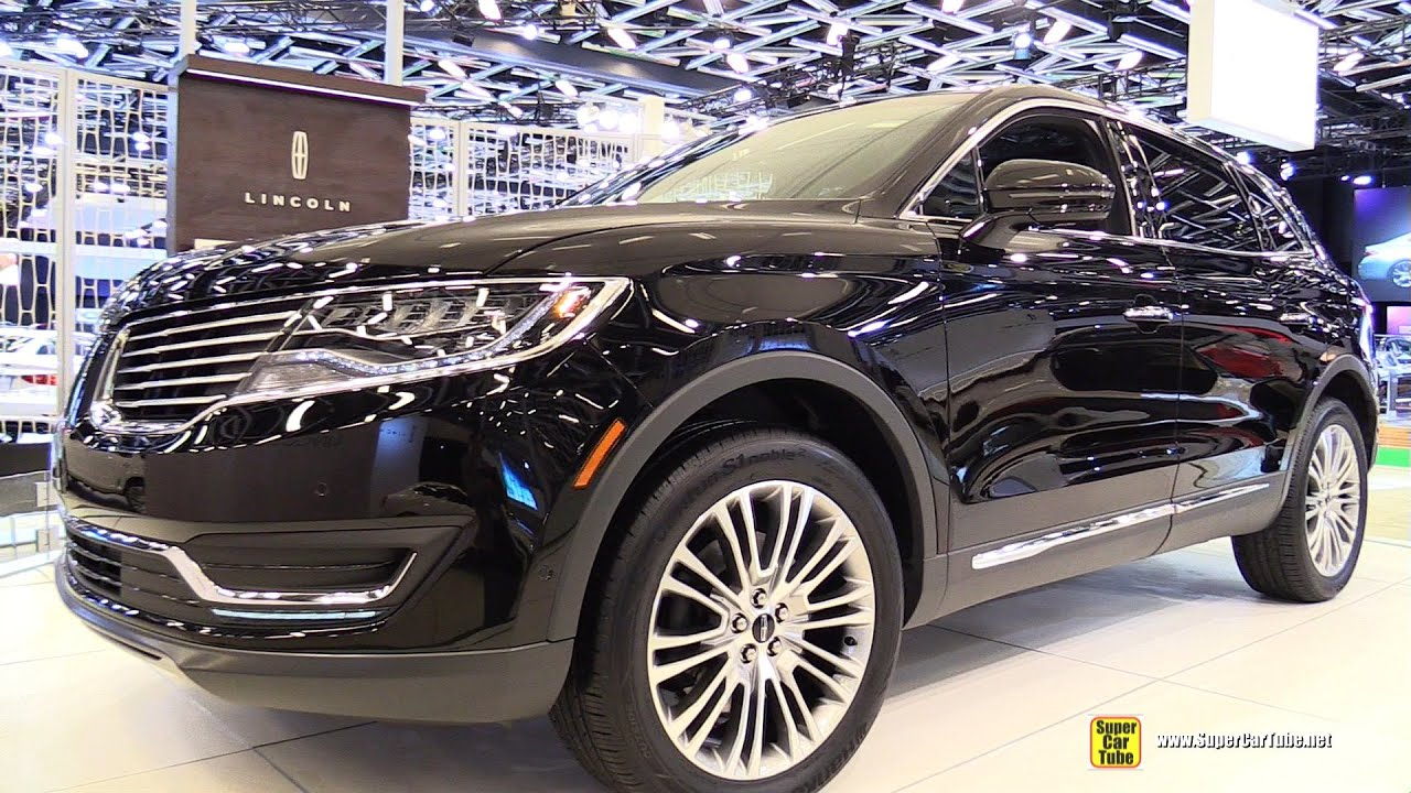 2016 lincoln mkx 2 7 awd exterior and interior walkaround 2015 montreal auto show youtube