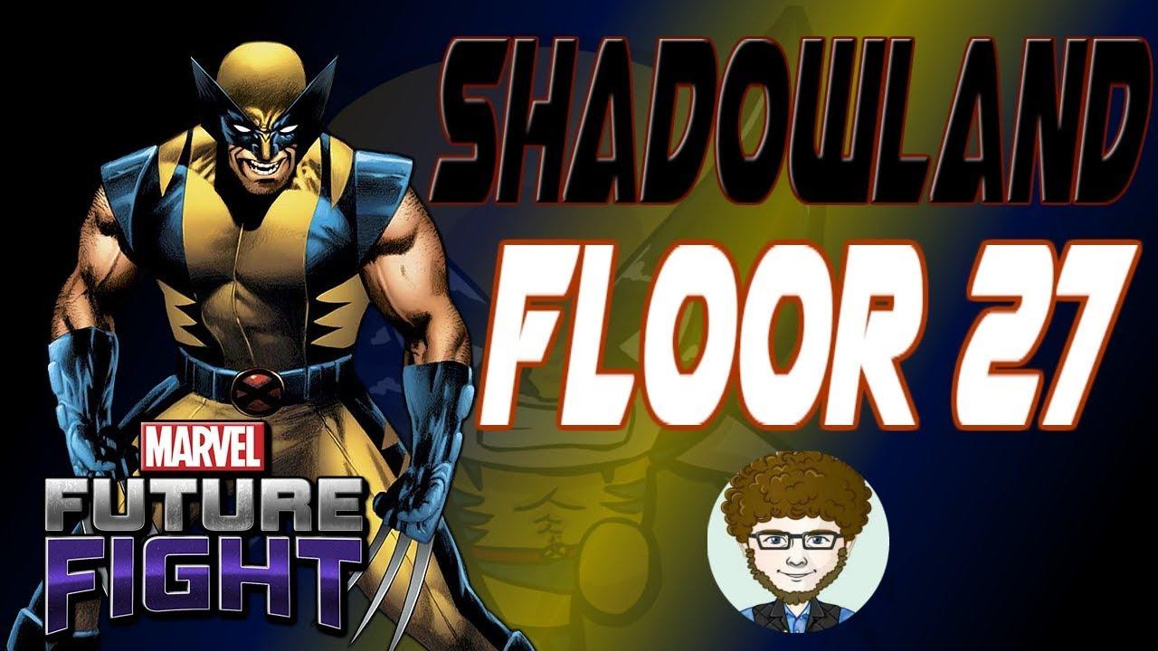 Marvel Future Fight Shadowland Floor 27 Wolverine