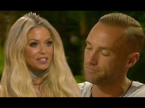 Calum Best's ex Bianca Gascoigne admits she would kiss him again during flirty exchange on CBB task