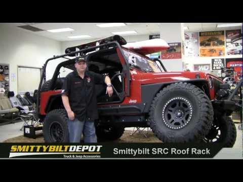 Jeep Wrangler SRC Roof Rack by Smittybilt