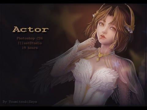 【SpeedPaint】Digital Painting - Actor - YoumitsukiSaya