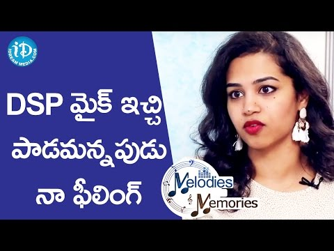 DSP Suddenly Asked Me To Sing During A Live Concert In US - Manisha || Melodies And Memories