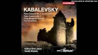 kabalevsky overture to colas breugnon op 24 allegro presto listesso tempo presto