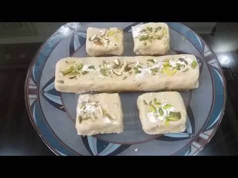 Very Delicious instant Til- Mawa Bhugga without gas jalaye(only in 2 minutes)… Veena Gupta…