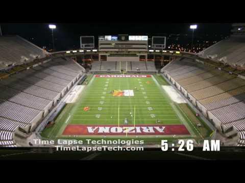 TL - Stadium Transformation, College to NFL