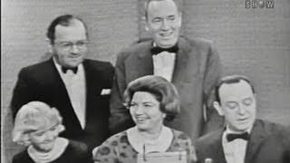 Whats My Line? - The panelists spouses; Tony Randall [panel] (Dec 25, 1960)
