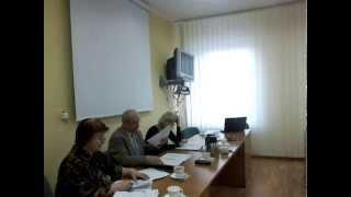 Jeziorany, posiedzenie komisji 26 listopada 2013, cz  II