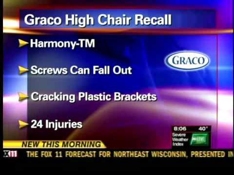 Graco high chair recall