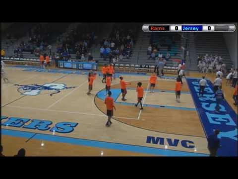 Mt. Vernon Rams Basketball at Jersey Panthers - 2017-18