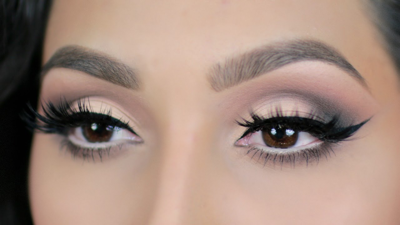 Neutral Smokey Eye Makeup Tutorial | Saubhaya Makeup