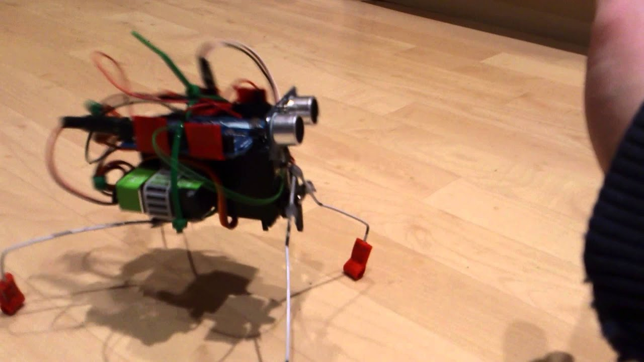 Arduino insect robot complete youtube