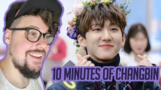 Mikey Reacts to 10 Minutes of Changbin