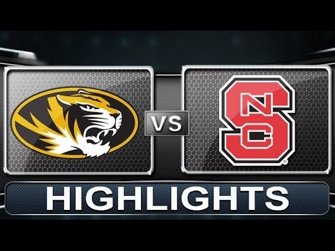 Missouri vs NC State | 2013 ACC Basketball Highlights