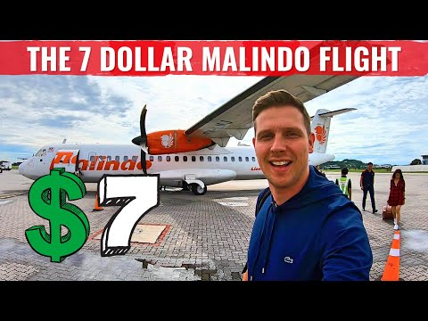 Review: MALINDO AIR ATR72 - THE $7 DOLLAR TICKET!