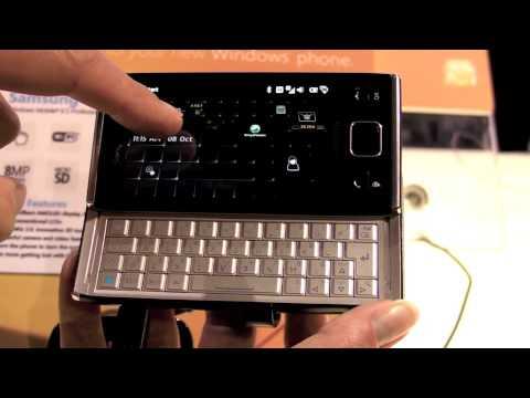 Sony Ericsson Xperia X2 Demo