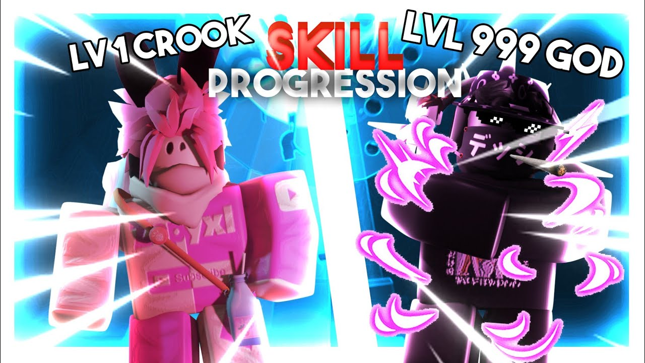 My Skill Progression In Tower Of Hell Roblox Youtube