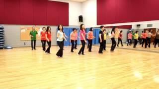 Never Ever Go Away - Line Dance (Dance & Teach in English & 中文)