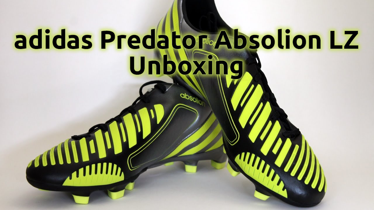 2013 adidas Predator Absolion Lethal Zones Unboxing FootballBoots.co.uk