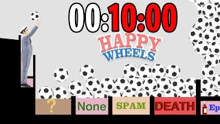 RECORD di BALL-THROW fatti in 10 MINUTI!! - Happy Wheels [Ep.172]