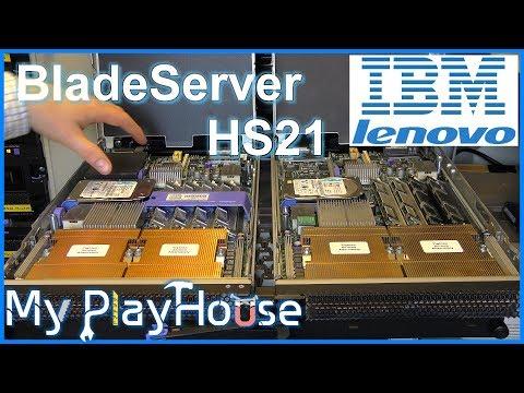 Blade Server HS21 in the Lenovo/IBM BladeCenter H - 524