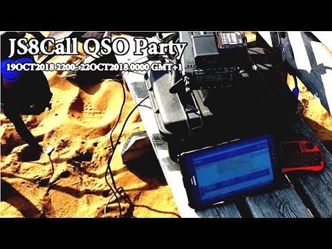 JS8Call QSO Party 19-22 October 2018 Ham Radio
