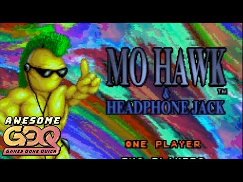 Mohawk & Headphone Jack by PJ in 43:37 - AGDQ2019