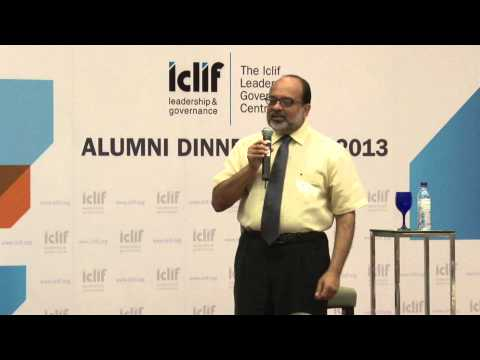 Iclif Alumni Dinner -- Leadership, Health & Wellness by Dr. Venugopal Balchand
