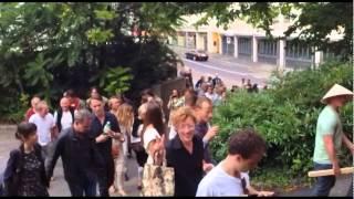 Performance at Alter Botanischer Garten by Patrick Graf & Katz Contemporary
