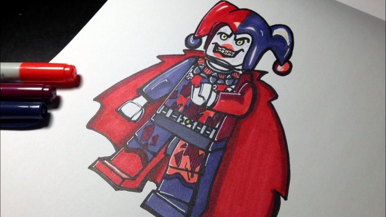 how to draw jestro  nexo knights  lego speed draw 106