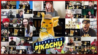 POKÉMON: DETECTIVE PIKACHU Trailer 2 | Reactions Mashup
