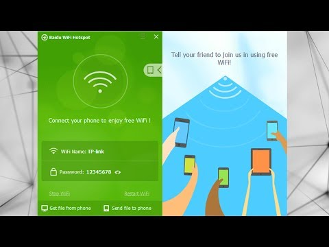 How To Create Wifi Hotspot In Windows 7 / Computer K Zarye Apne Mobile Par Internet Use Karain