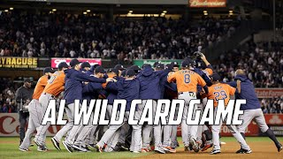 MLB | 2015 AL Wild Card Game Highlights (NYY vs HOU)