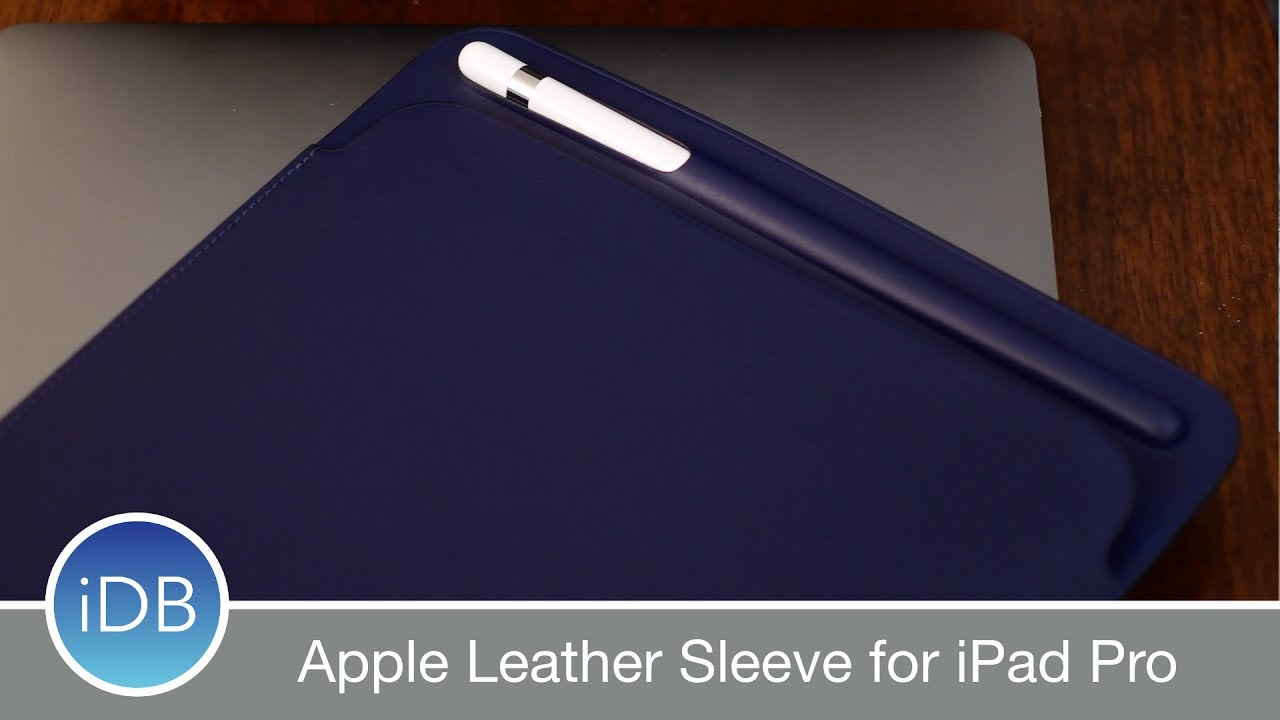 Apple Leather Sleeve for 10.5-inch iPad Pro Black MPU62ZM//A