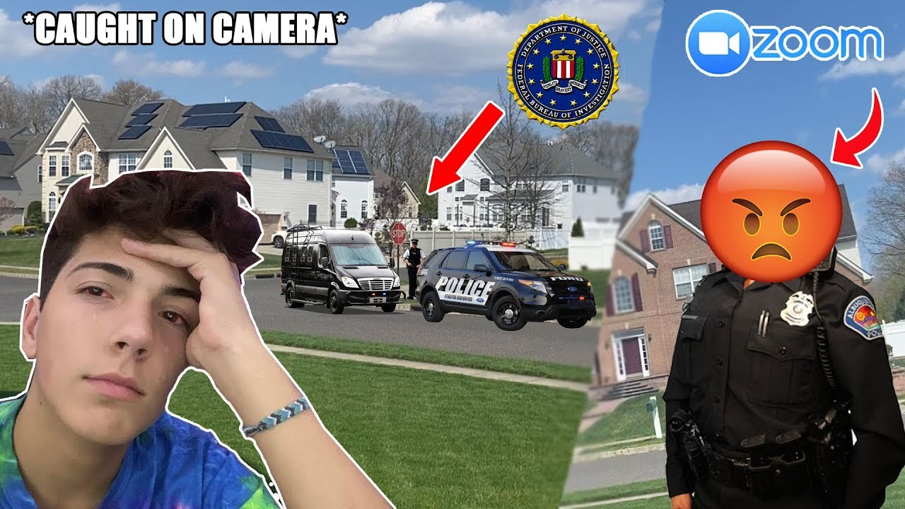 The Fbi Came To My House For Joining Online Classes Caught On