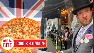 Barstool Pizza Review - Ciro's Pizza Pomodoro (London, England)