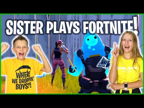 I'M GONNA CARRY HER!!! Fortnite With Karina!