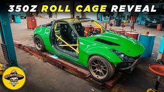 Drift Build 350z Roll Cage Reveal | (Ep#15) 4K thumbnail