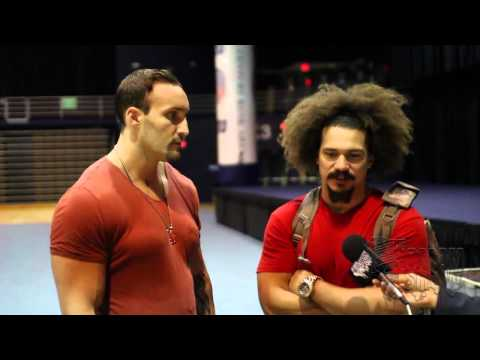 CHRIS MASTERS TALKS BEING STRONGEST WRESTLER; CARLITO HUMBLED TO RETURN TO WWE FOR A FEW