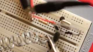 Single transistor-crystal oscillator on 3,5MHz (80m)