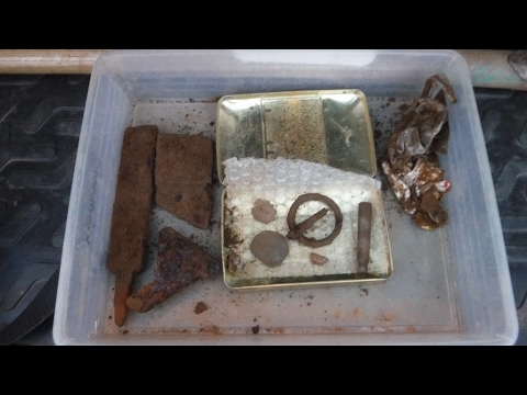 Metal Detecting Bavaria 2017 With Gerd. Part 522 Permission 14A  4th Day  12Feb