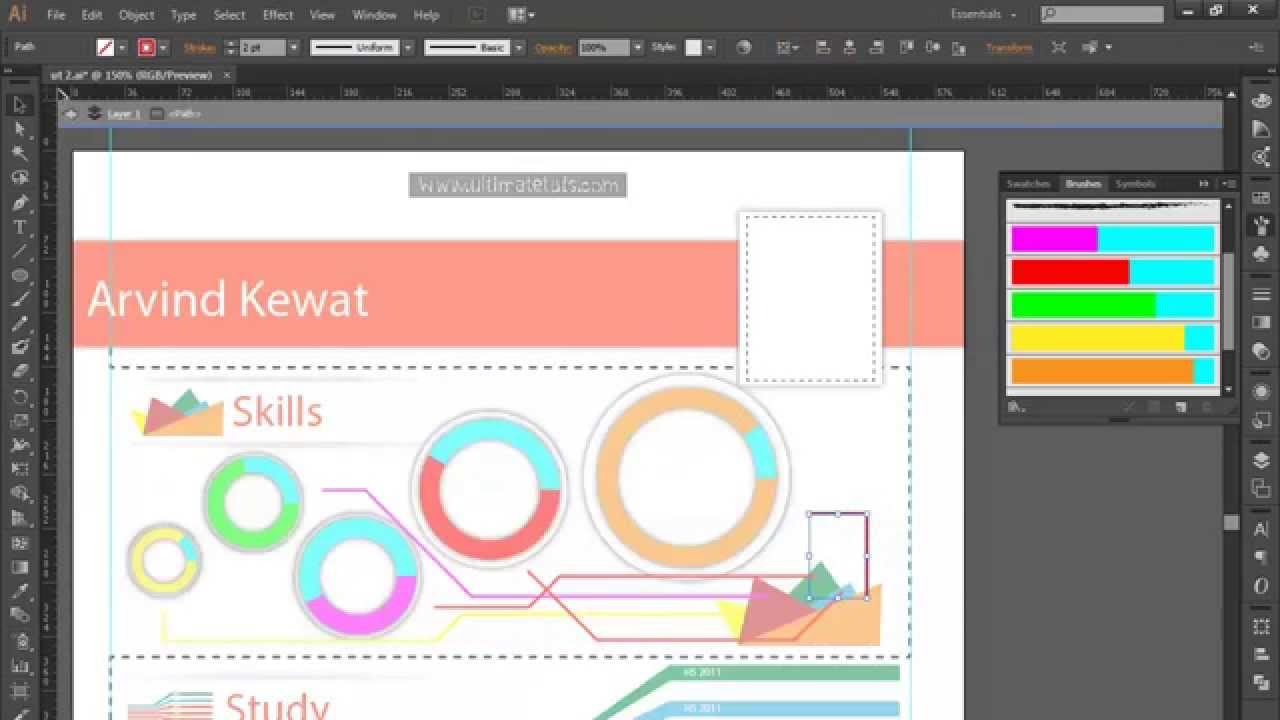 Professional Infographics Adobe Illustrator CC Ultimate Tutorials ...